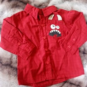 Boys button up. Perfect Condition. NEVER WORN!!